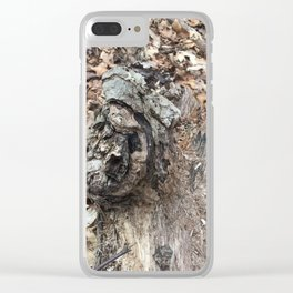 Intimate Tree #3 Clear iPhone Case