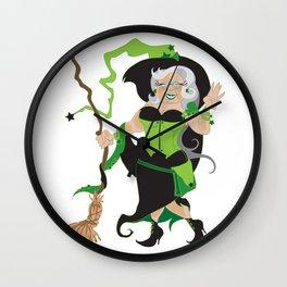 Granny Hex (Green) Wall Clock