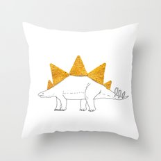Stegodoritosaurus Throw Pillow