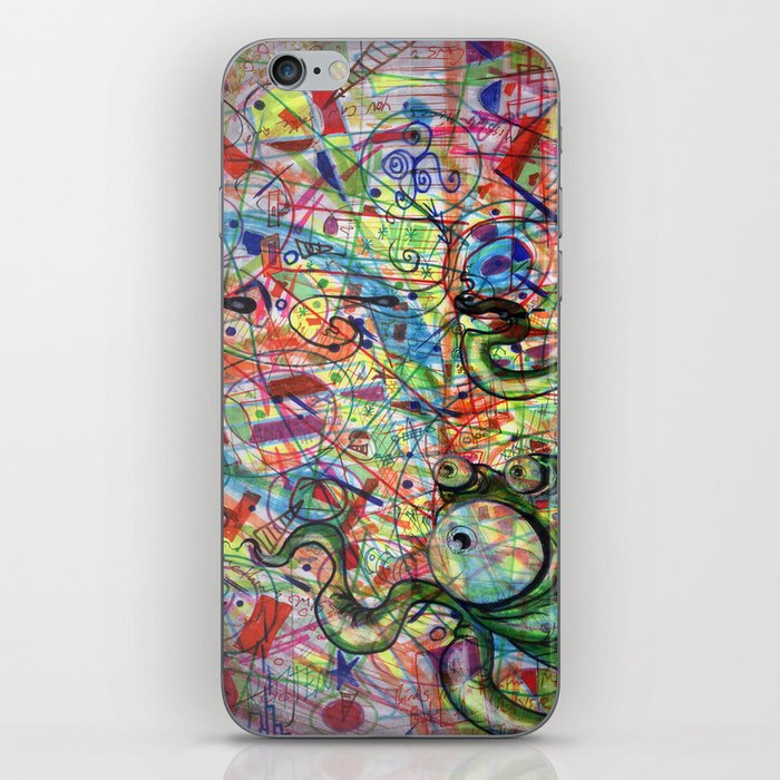 What a Mess! iPhone Skin