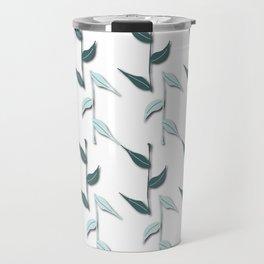 Pine and Mint Bambu Leaves Travel Mug