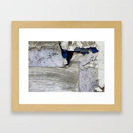 Cracked Paint 19 - Huddersfield Framed Art Print