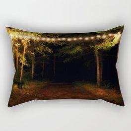 All Around Me Burdens Seem to Fall Rectangular Pillow