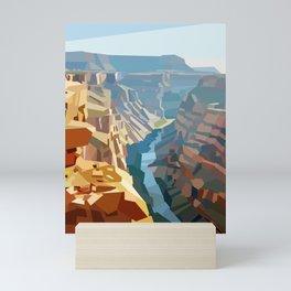 Geometric Grand Canyon National Park, USA Mini Art Print