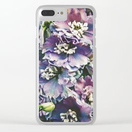 Field of Flowers 14 Clear iPhone Case