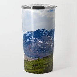 View along the Wilcox Pass Hike in Jasper National Park, Canada Travel Mug