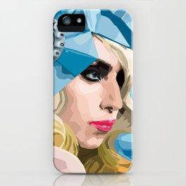 Lady G. iPhone Case
