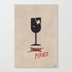 Packing Pirate Canvas Print