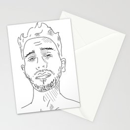 LinePortrait Stationery Cards