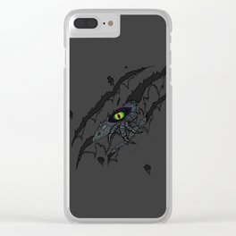 Dino Breakout Clear iPhone Case