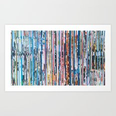 STRIPES 26 Art Print