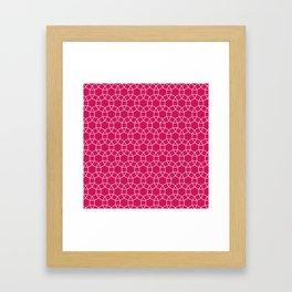 Pink Eye Framed Art Print