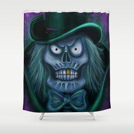 Happy Haunt by Topher Adam 2016 Shower Curtain