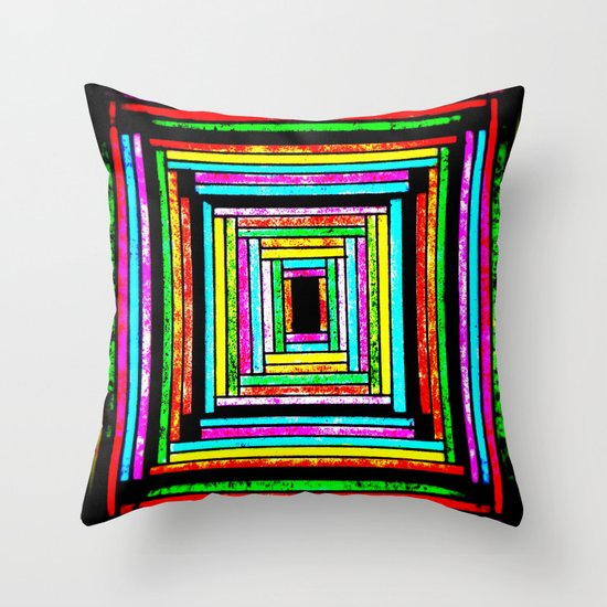 The Pattern Squared Throw Pillow