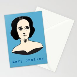 Mary Shelley, hand-drawn portrait Stationery Cards