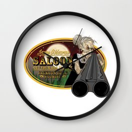 Jenny O'Meara's Saloon Wall Clock