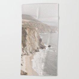 Big Sur California Beach Towel