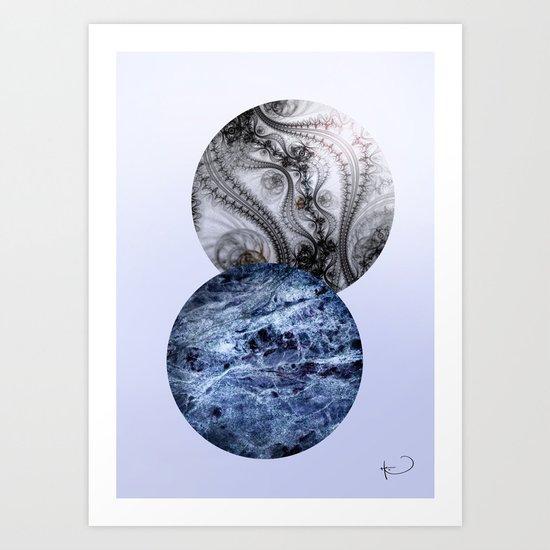 Köln Balls Art Print
