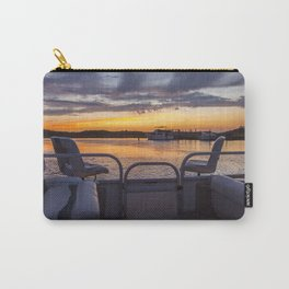 Boat Side Sunset Carry-All Pouch