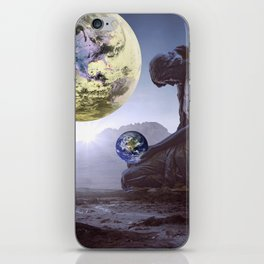 The World is in Our Hands iPhone Skin