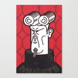 Herr Mugatu Canvas Print