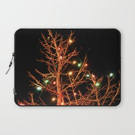 Holiday Lights Laptop Sleeve