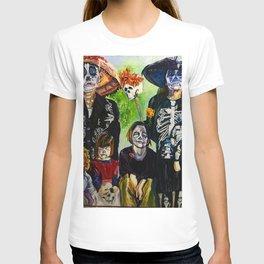 Las Tias Locitas ( The Crazy Aunties) T-shirt