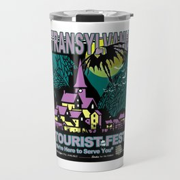Transylvania Travel Poster Travel Mug