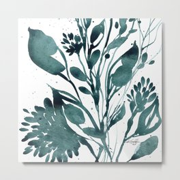 Organic Impressions No. 108 by Kathy Morton Stanion Metal Print