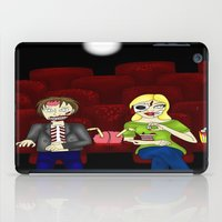 theatre iPad Cases featuring Horror Theatre by Beaston Designs