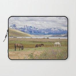 Torres del Paine - Wild Horses Laptop Sleeve