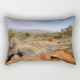 Flinders Ranges Desert landscape Rectangular Pillow