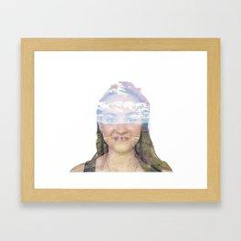 Thinking of you: Ann Framed Art Print