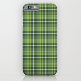 Christmas Plaid 10 iPhone Case