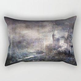 Dracula's Castle Rectangular Pillow