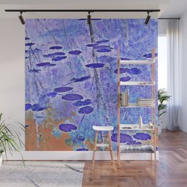 Lily Pad Negative Wall Mural