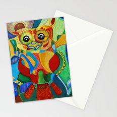 Rainbow Owl Stationery Cards