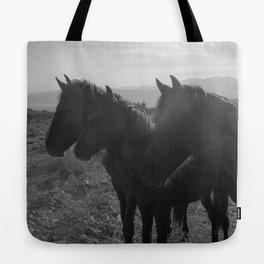 Desert Horses Tote Bag
