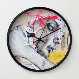 Have you Ever Hurt Someone You Loved? Wall Clock