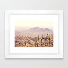 Arizona Landscape Framed Art Print