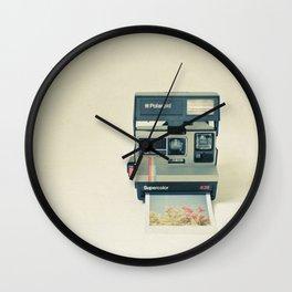 Instant Dreams Wall Clock