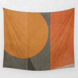 Sad Sun Wall Tapestry
