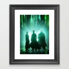 The Matrix Framed Art Print