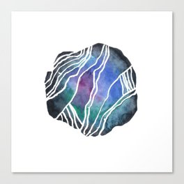 Schist - Pebble 3 Canvas Print