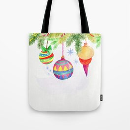 Christmas ornaments Tote Bag