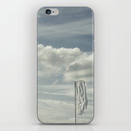 Flying flags iPhone Skin