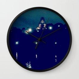 Ottawa at Dusk Wall Clock