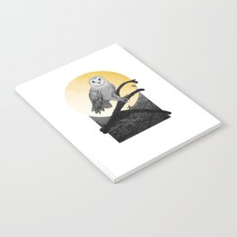 Golden Owl Notebook