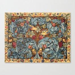 """William Morris """"Acanthus and vine"""" 2. Canvas Print"""