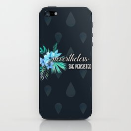 She Persisted iPhone Skin